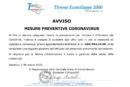 MISURE PREVENTIVE CORONAVIRUS